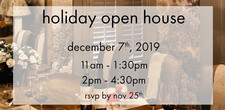 holiday open house PM