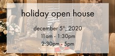 holiday open house AM